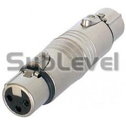 XLR-F - XLR-F audio adapteris