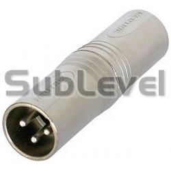 XLR-M - XLR-M audio adapteris
