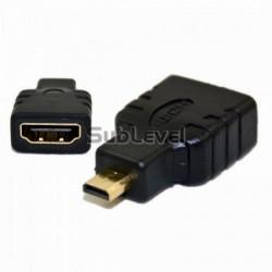 Micro HDMi uz HDMI pāreja