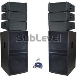 TW Audio 20 kw skaņas komplekts