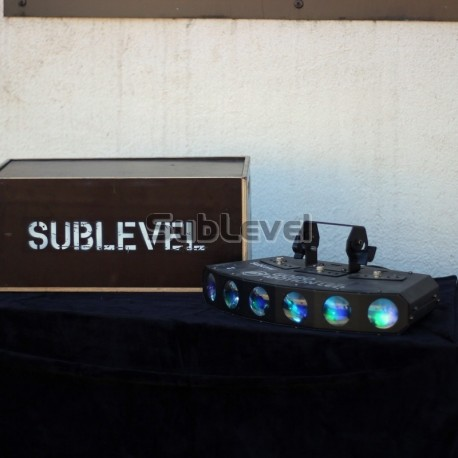 LED Gobo motion gaismas efekts
