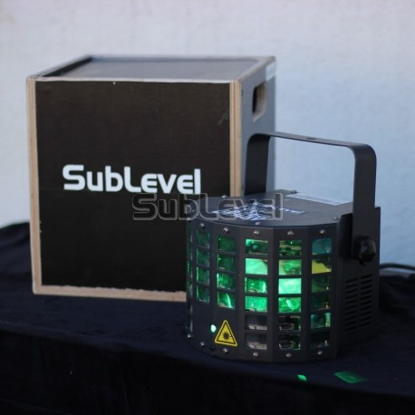LED Laser Derby gaismas efekts