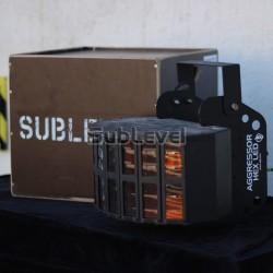Aggressor HEX LED gaismas effekts