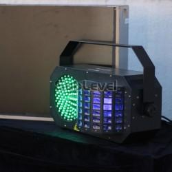 LED Triple FX Laser Box gaismu efekts
