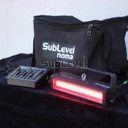 LED krāsainais stroboskops