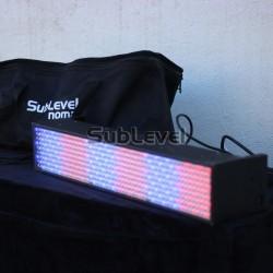 LED panelis/prožektors gaismas efekts