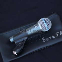 Shure Beta 58 A mikrofons
