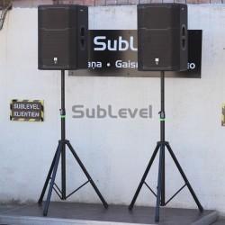 1 kw JBL skaņas komplekts
