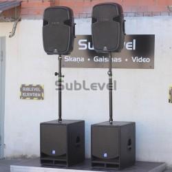 2.4 kw JBL skaņas komplekts
