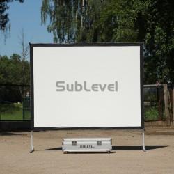 Projektora ekrāns 1.8m x 2.44m
