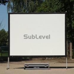 Projektora ekrāns 2.25m x 3.05m