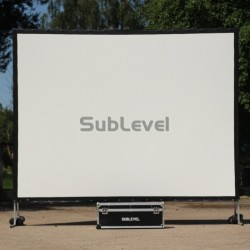 Projektora ekrāns 3m x 4m