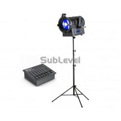 Online video gaismu komplekts