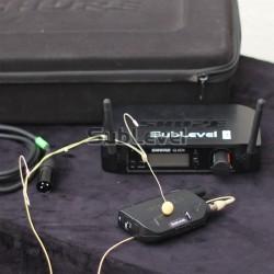 Shure GLXD14 headset miesas krāsas