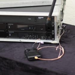 Shure QLXD24 headset miesas krāsas
