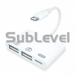 Lightning USB pieslēguma vads