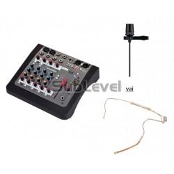 Audio podkāsta ieraksta komplekts