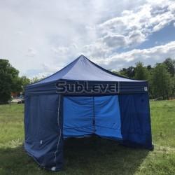 Telts 3 x 3m zila