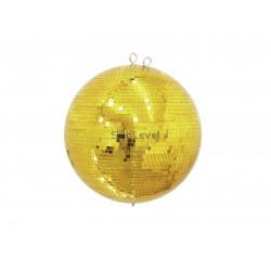 Eurolite Spoguļbumba 40cm gold
