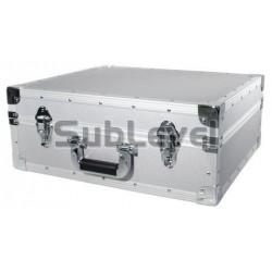 Roadinger Turntable case silver